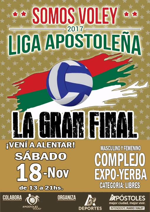 LIGA APOSTOLEÑA DE VOLEY-GRAN FINAL