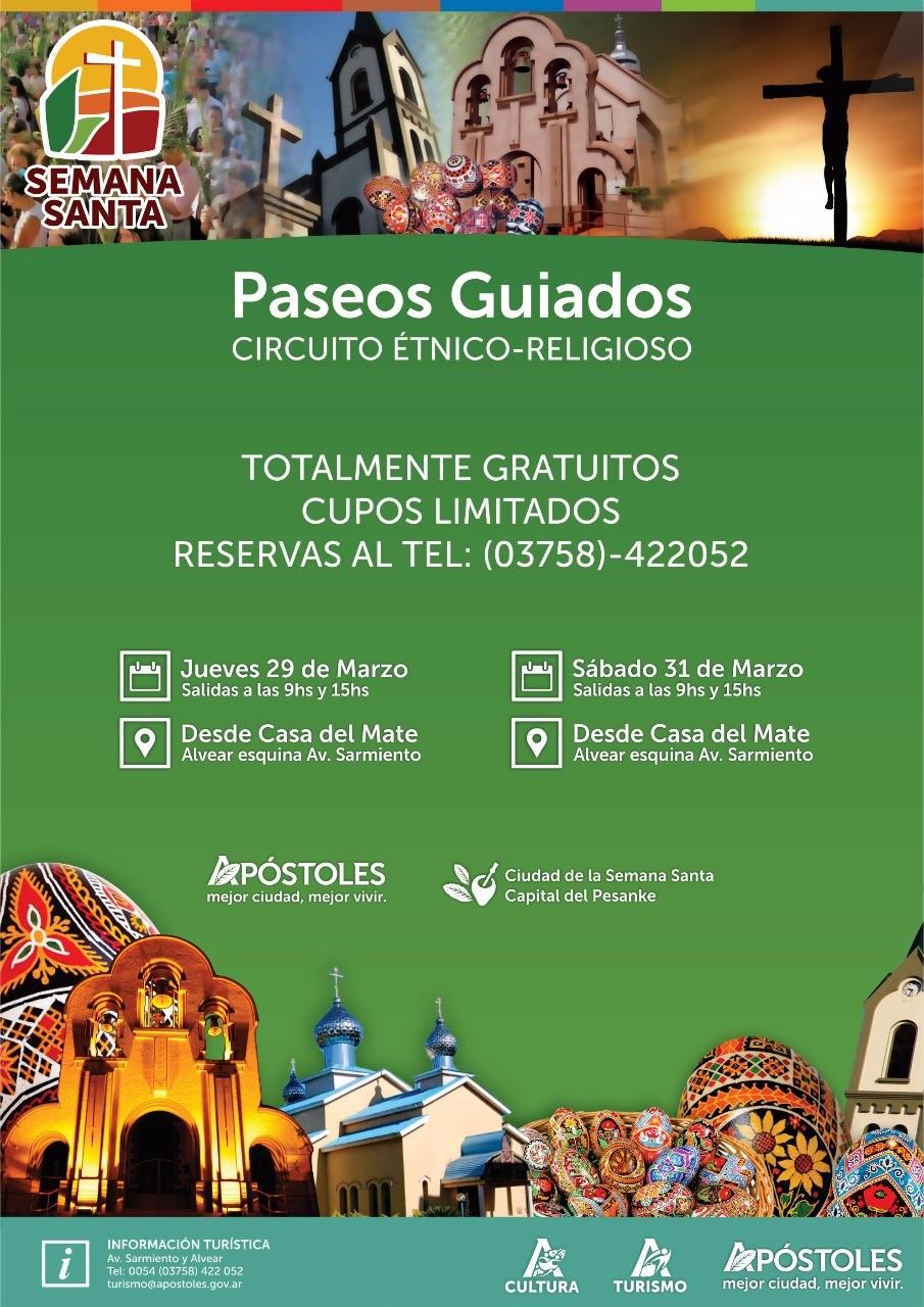 Circuito Yerbatero : Paseos guiados circuito Étnico religioso